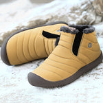 Big Size Men & Women Lovers Shoes Winter Warm Cotton Lining Boots