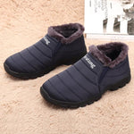 Large Size Waterproof Soft Sole Slip-On Warm Snow Boots