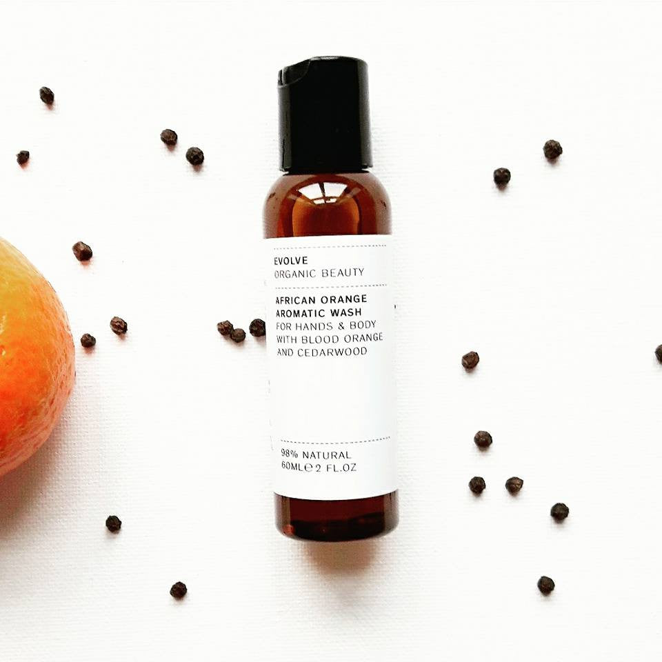 Third Product Reveal from the Rise & Shine January Box: African Orange Aromatic Wash