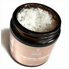 Lemongrass and Rosemary Renew Foot Scrub by Isla Apothecary