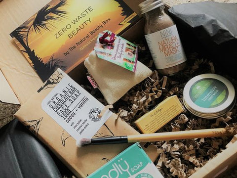 July 2018 Edition | The Natural Beauty Box | Zero Waste Beauty | Photo by Hannah Rudd