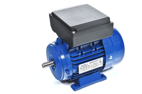 1.1kW (1.5hp) Single Phase Motor 2 Pole (3000RPM) 80 Frame