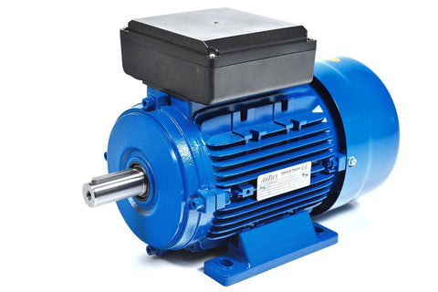 3.7kW (5.0hp) Single Phase Motor 4 Pole (1500RPM) 112 Frame