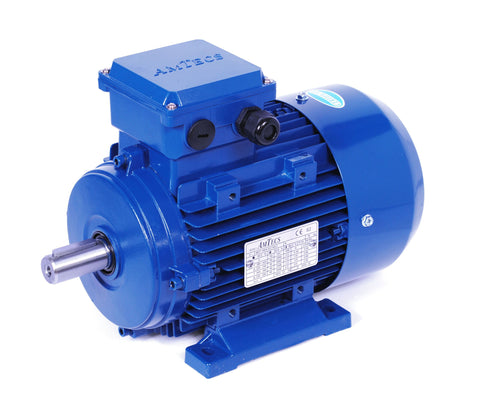 0.75kW (1.0hp) Three Phase Motor 6 Pole (1000 RPM) 90S Frame