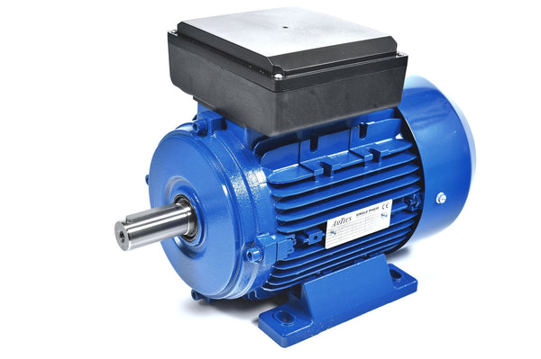 1.1kW (1.5hp) Single Phase Motor 4 Pole (1500RPM) 90S Frame