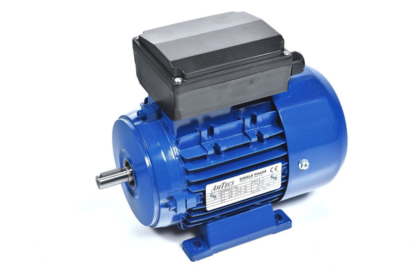 0.75kW (1.0hp) Single Phase Motor 2 Pole (3000RPM) 80 Frame
