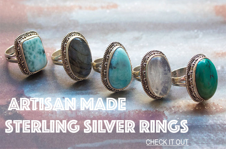 925 Handmade Sterling Silver Rings