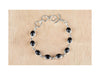 Awesome Sterling Silver Black Onyx Bracelet
