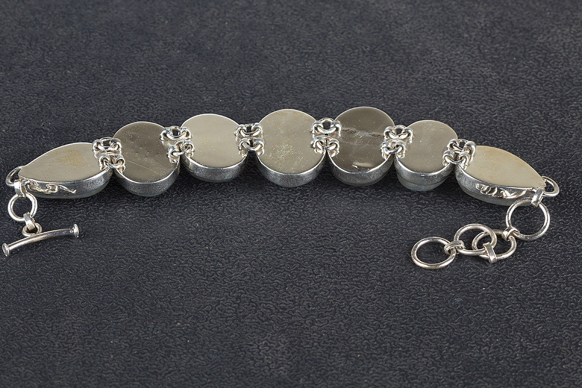 silver steel western bracelet photo stainless jewelry cuff mens chain link amazing