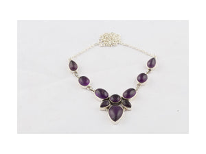 Bargain Amethyst Necklaces For Women In Sterling Silver