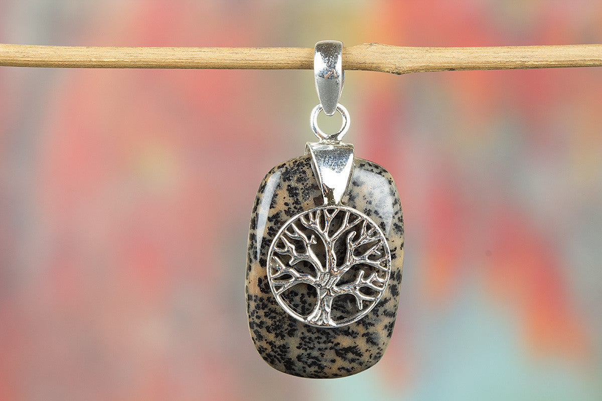 Awesome Handmade Picture Jasper Gemstone 925 Silver Pendant