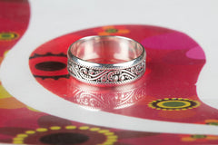 Handmade 925 Silver Ring All Size Silver Unisex Ring Jewelry