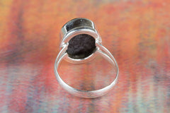 Abalone Shell Gemstone 925 Silver Ring