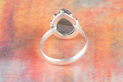 Amazing Labradorite Gemstone Sterling Silver Ring