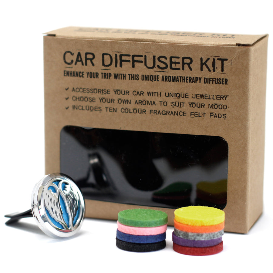 Car Diffuser Kit -  Angel Wings - 30mm