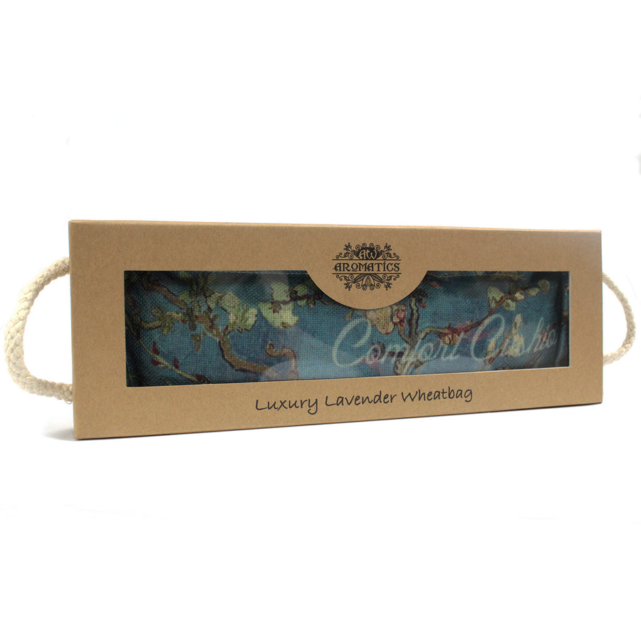Luxury Lavender Wheat Bag in Gift Box - Blossom