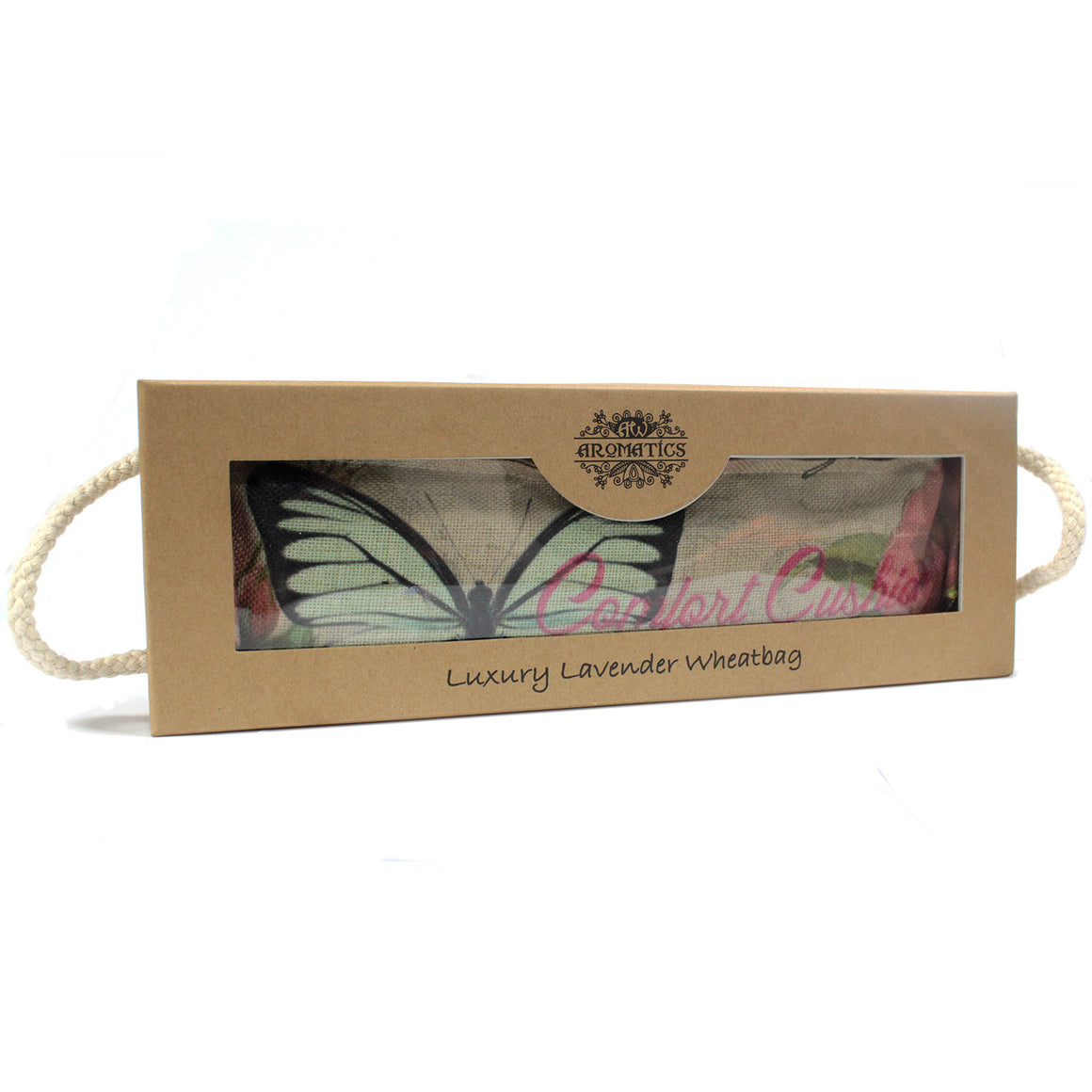 Luxury Lavender Wheat Bag in Gift Box - Blue Sky RELAX