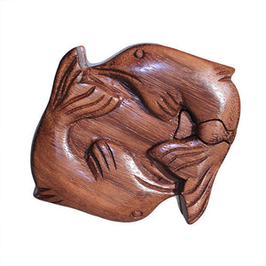 Bali Puzzle Box - Dolphins