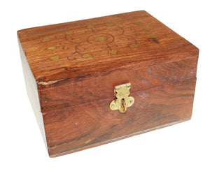 Aromatherapy Wooden Box-holds 12 x 10ml bottles