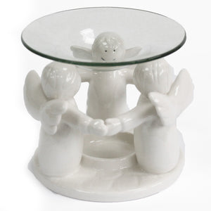 Angel Friends Oil Burner -White