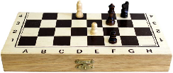 1x Small Budget Chess Set - 24 cm