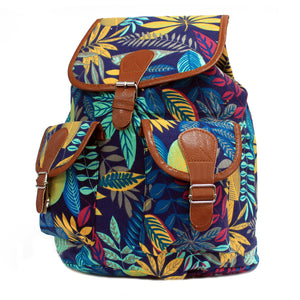 Jungle Bag - Big Backpack - Blue/Teal