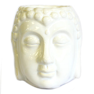 Buddha Oil Burner - White