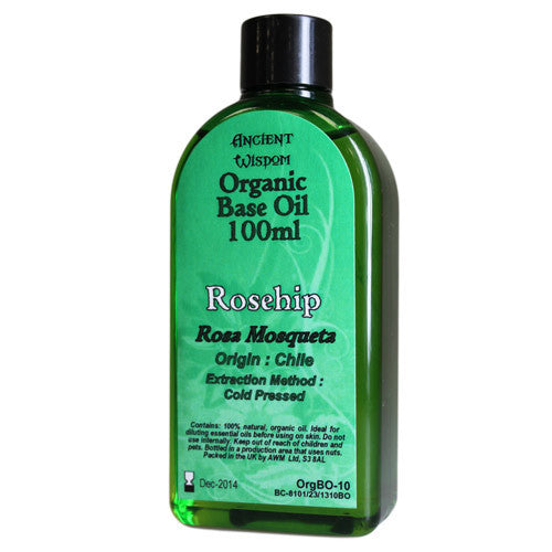 Rosehip 100ml Organic Base Oil