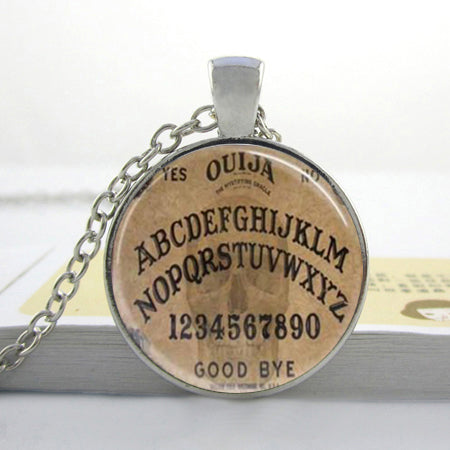 Ouija Spirit Board Pendant Necklace 1