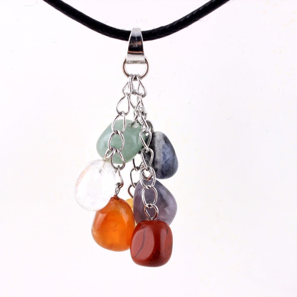 necklace point chakra itm o crystal gemstone pendant healing lazuli jewellery lapis