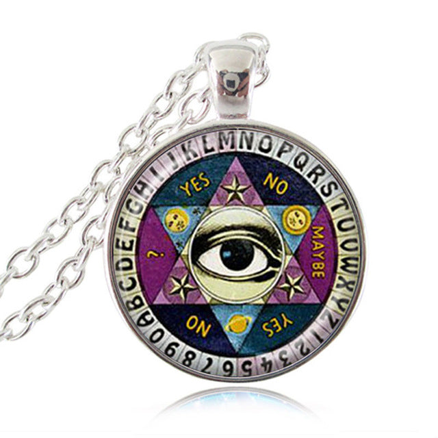 Ouija Spirit Board Pendant Necklace 3