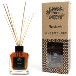 200ml Patchouli Essential Oil Reed Diffuser