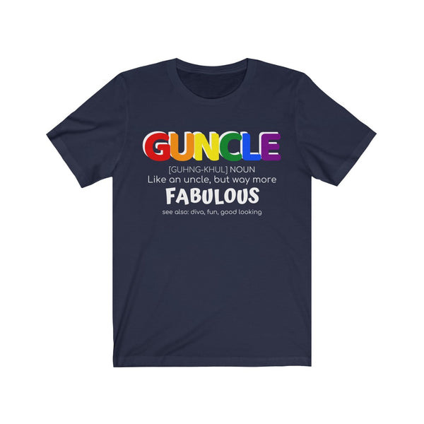 Guncle - Fabulous - Europe - EqualiTee, LGBT, Gay, Lesbian, Bisexual, Trans, Queer, Shirts, Apparel, Fashion, Funny Gay Shirts from EqualiTee