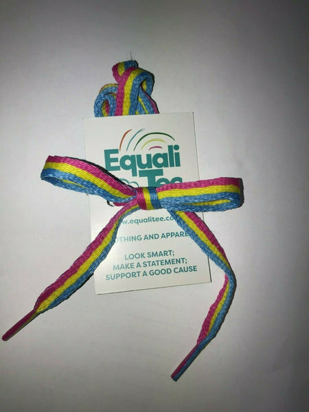 LGBT Shoelaces - EqualiTee, LGBT, Gay, Lesbian, Bisexual, Trans, Queer, Shirts, Apparel, Fashion, Funny Gay Shirts from EqualiTee