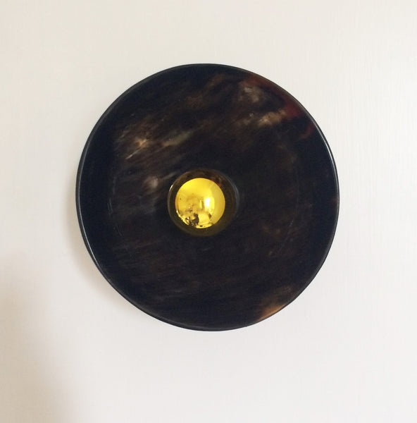 Circle of Horn wall light