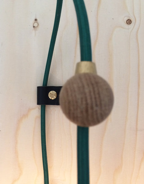 Oak Utility Wall Light