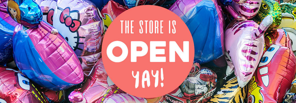 The store is open!