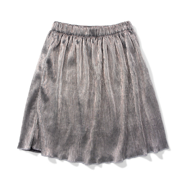 livvy - silver and black skirt