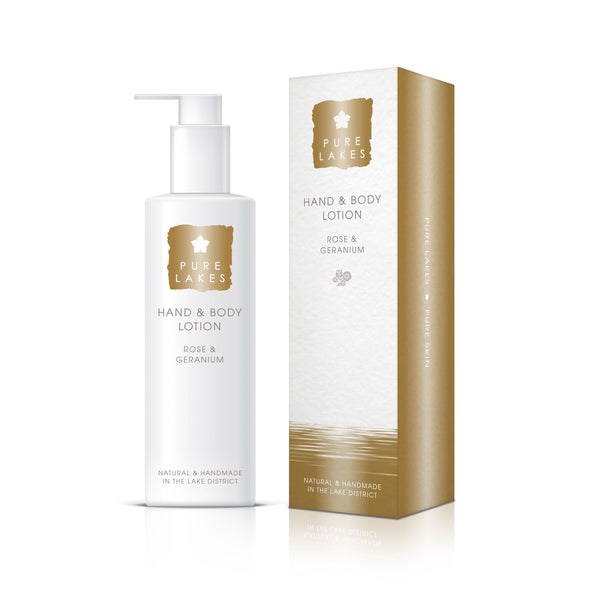 Rose & Geranium Hand & Body Lotion