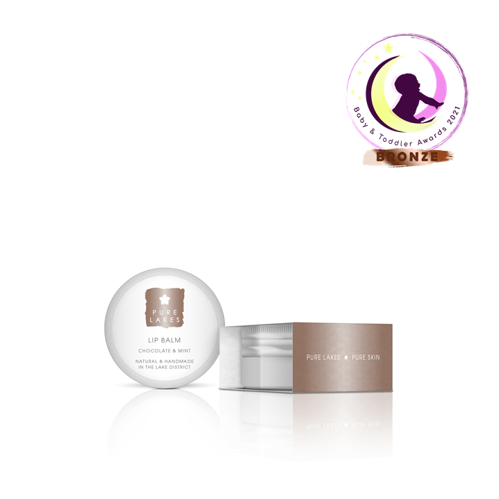 Chocolate & Mint Lip Balm skincare Pure Lakes