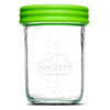Baby Food Glass Containers by NellamBaby - Set of 12 (4oz. & 8oz.)