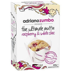 Adriano Zumbo White Chocolate & Raspberry Muffin Mix 630g