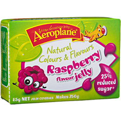 Aeroplane Jelly Reduced Sugar Raspberry  85g