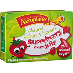 Aeroplane Jelly Reduced Sugar Strawberry  85g