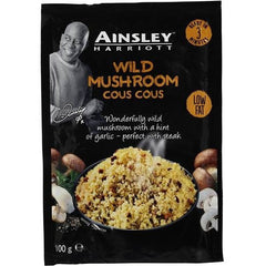 Ainsley Harriot Cous Cous Wild Mushroom  100g