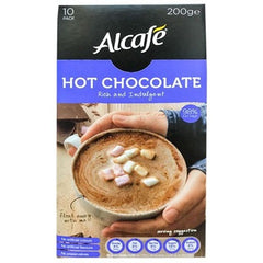 Alcafe Hot Chocolate Rich & Indulgent 10pk-200g