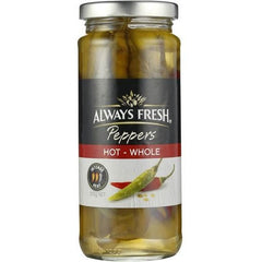 Always Fresh Hot Chilli Peppers  310g