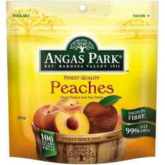 Angas Park Peaches Dried 200g
