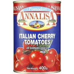 Annalisa Tomatoes Cherry In Tomato Juice 400g