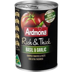 Ardmona Rich & Thick Chopped Herb Tomatoes 410g